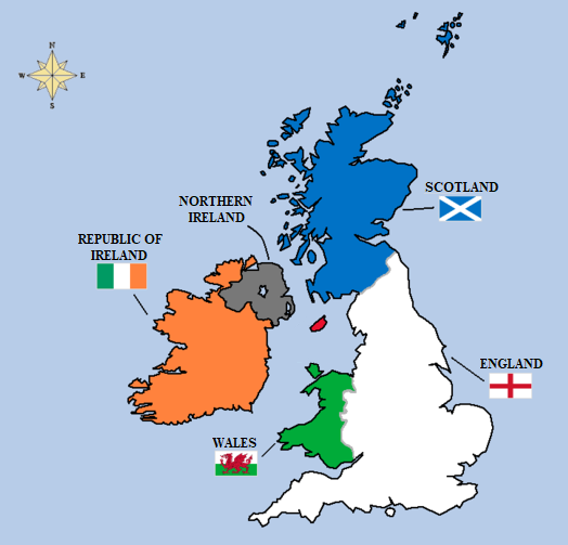 British Isles – UK & Ireland