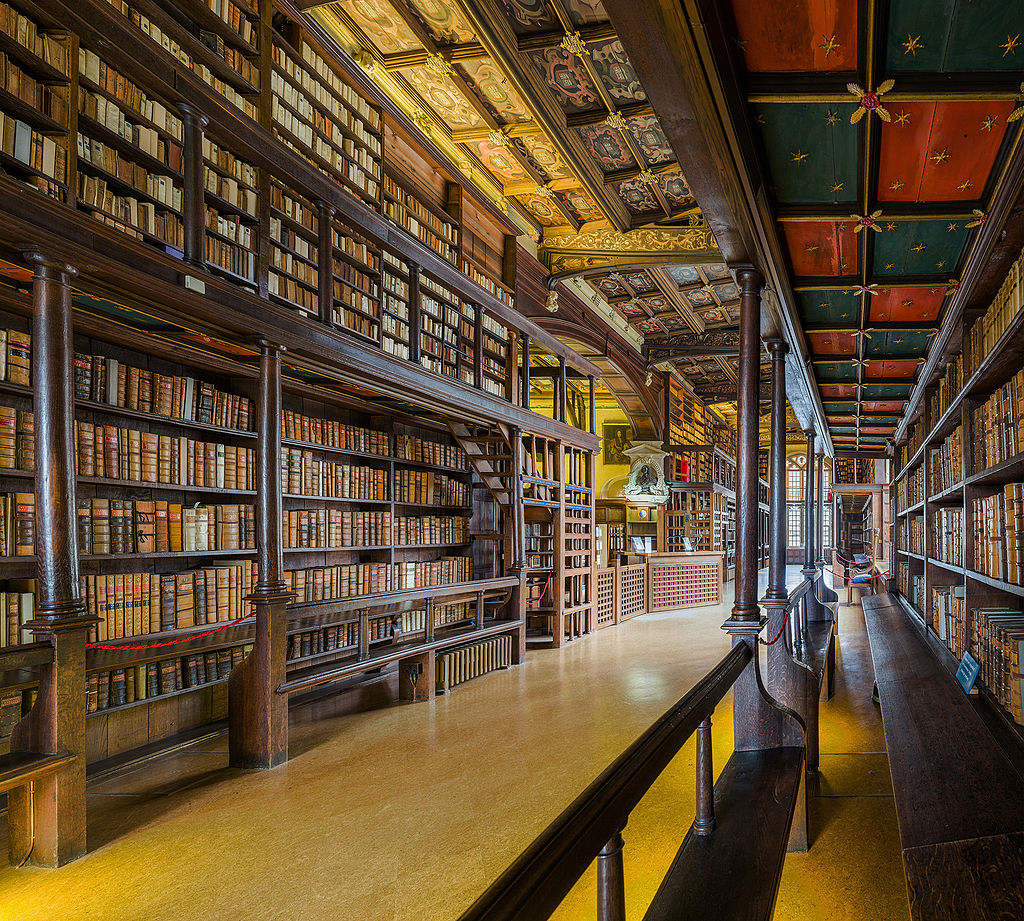 Duke Humfrey's Library Interior 3, BodleianLibrary, Oxford, UK