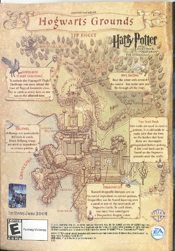 Map Of Hogwarts Grounds Hogwarts video game map – The Harry Potter Lexicon