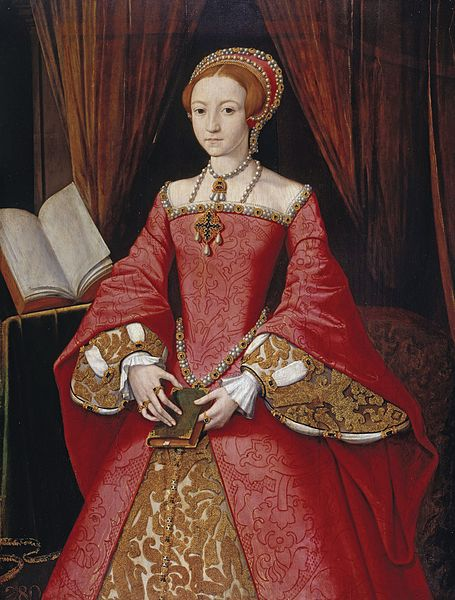 Portrait of Elizabeth I as a Princess