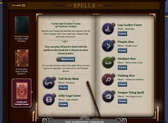Curses and Counter Curses – Pottermore