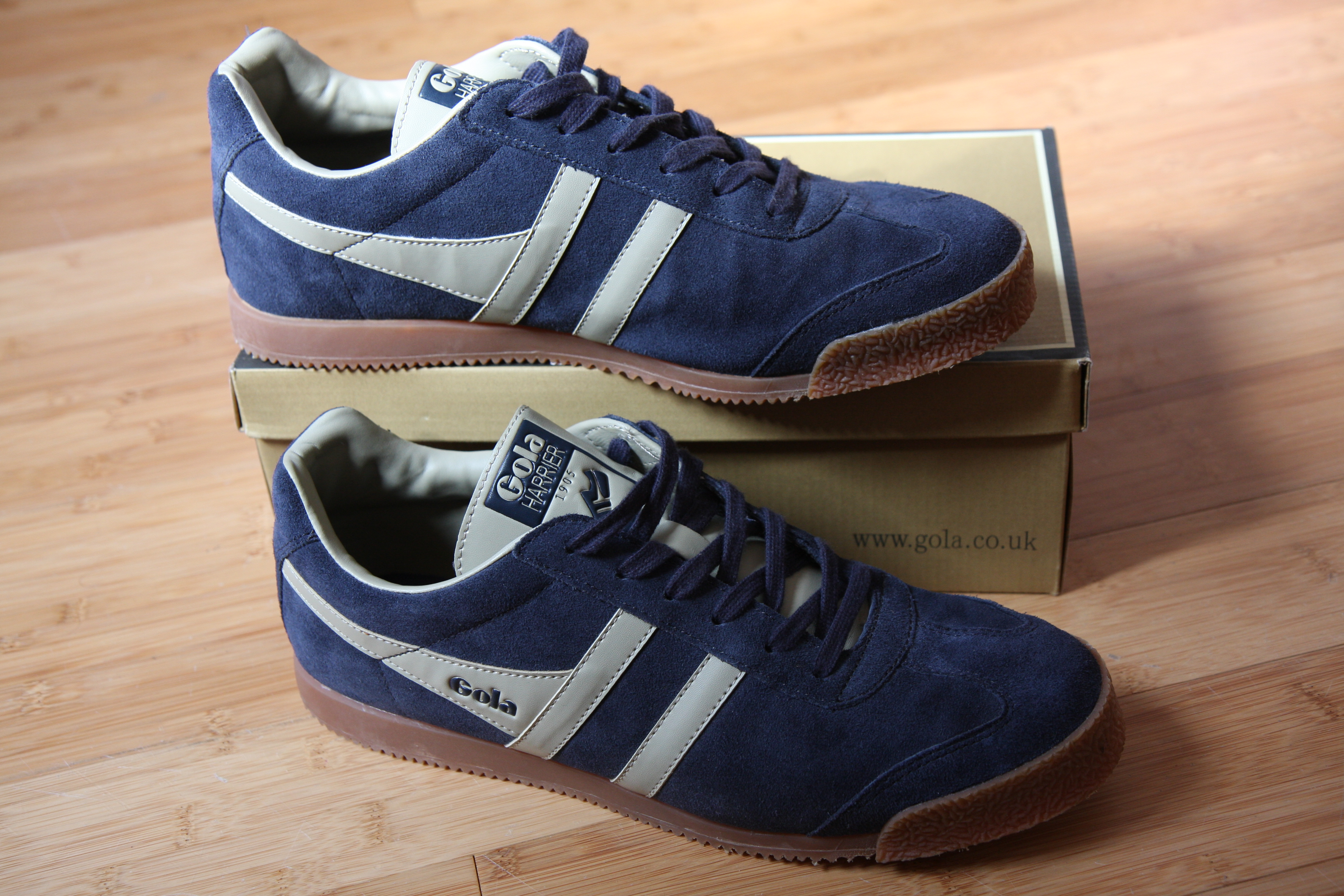 Gola Harrier Navy Men's Trainers