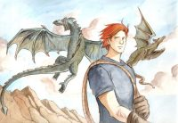 Charlie Weasley leaves Hogwarts to study dragons
