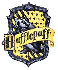 Hannah Abbott and Ernie MacMillan are sorted into Hufflepuff