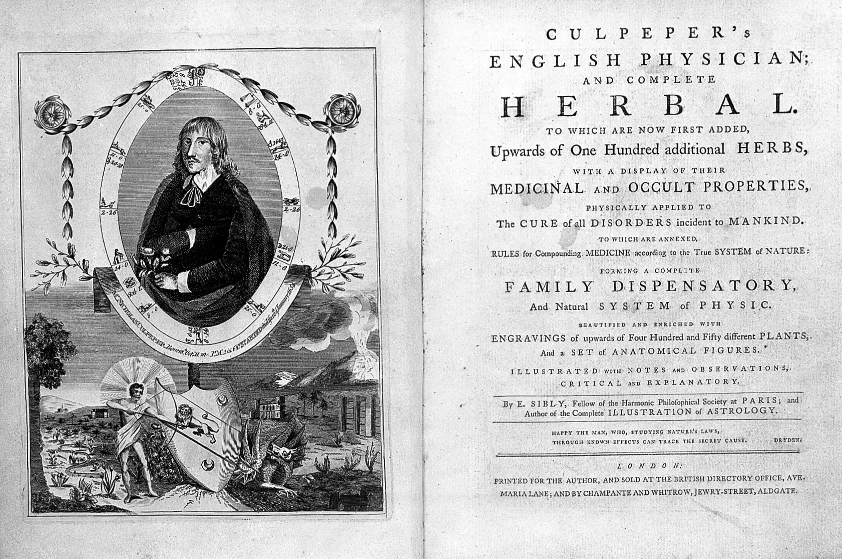 Nicholas Culpeper publishes Complete Herbal – Harry Potter Lexicon