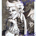 Autographed photo of Gilderoy Lockhart.
