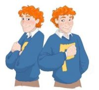 Fred and George Weasley are born