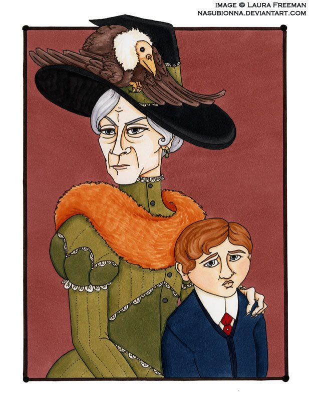 Grandma and Neville Longbottom_