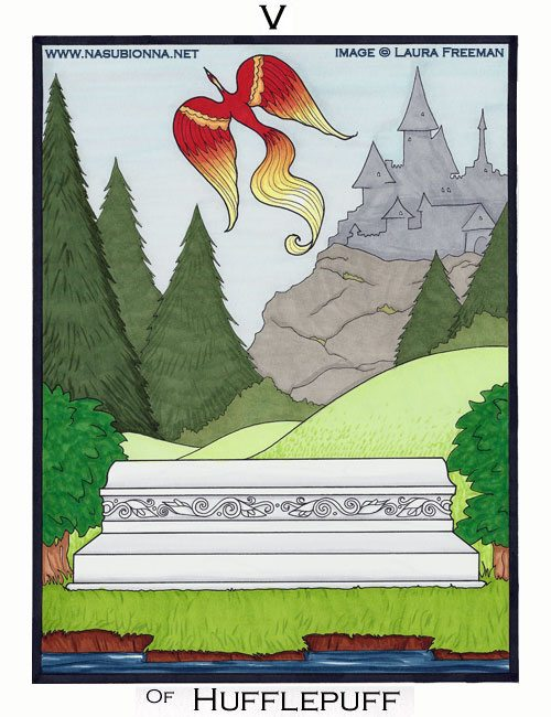 Harry Potter Tarot: 5 of Cups