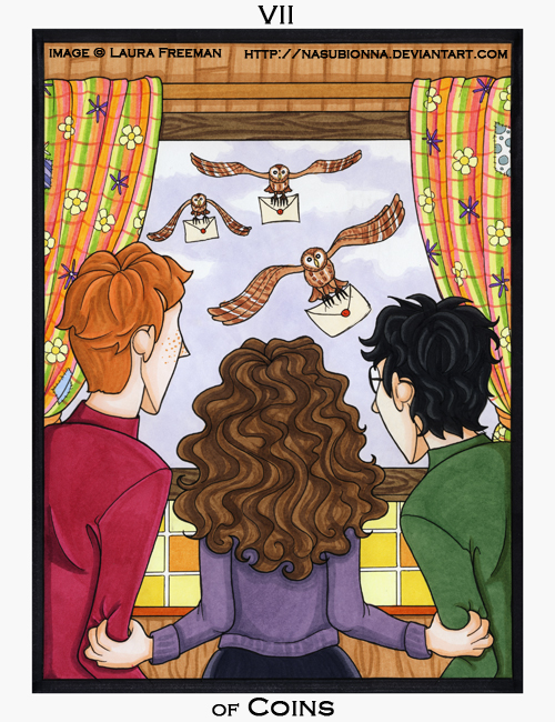 Harry Potter Tarot :: 7 of Cups