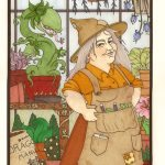 Professor Sprout as King of Cups.