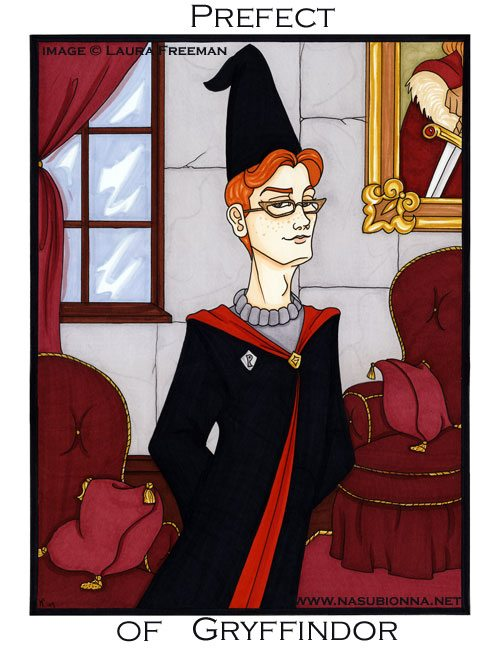 Harry Potter Tarot: Page of Wands