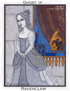 Ghost of Helena Ravenclaw.