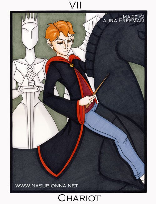 Harry Potter Tarot: The Chariot