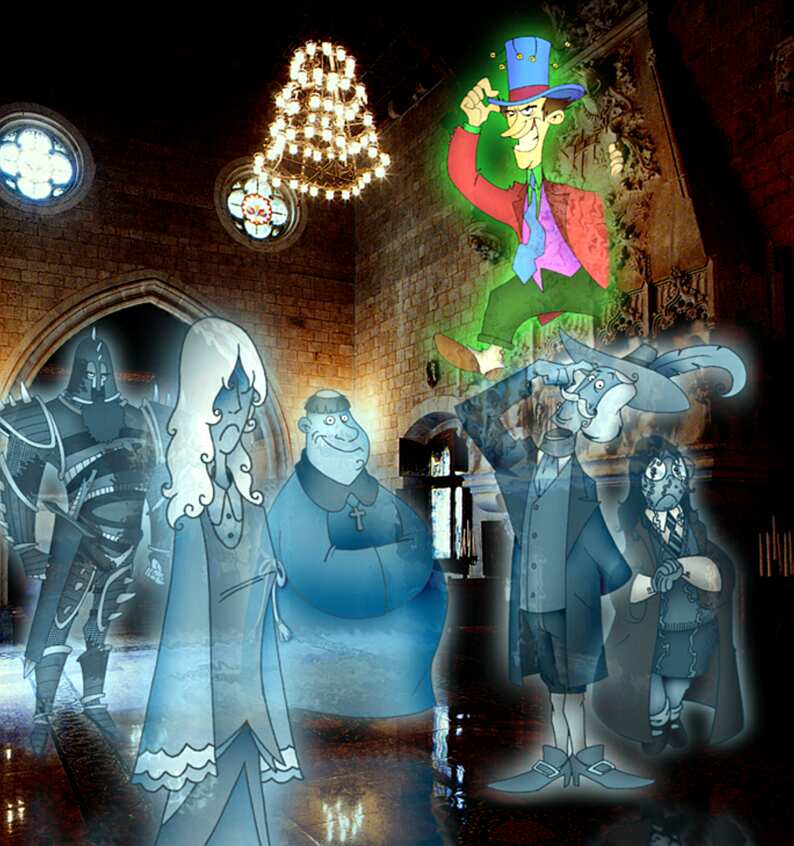 Hogwarts Ghosts