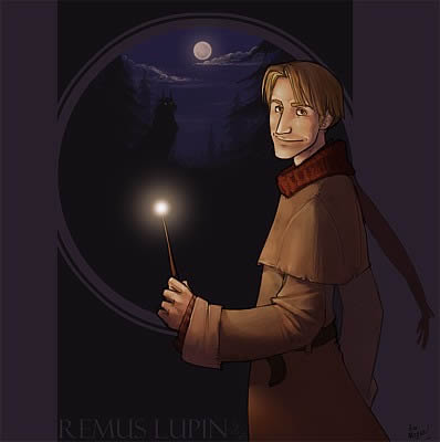 lupin with wand
