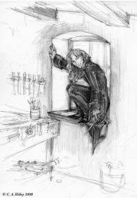 Grindelwald steals the Elder Wand from Gregorovitch