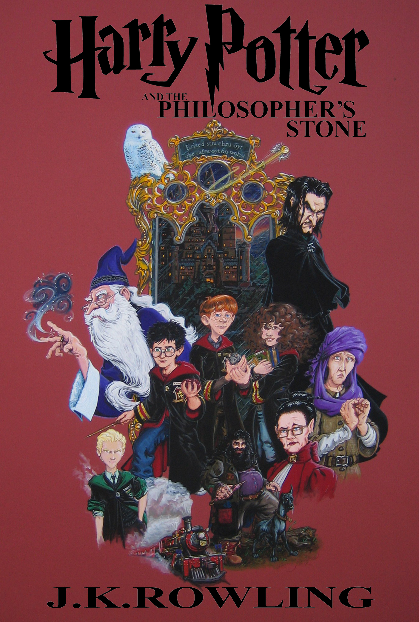 Harry Potter: Book 1, Cover