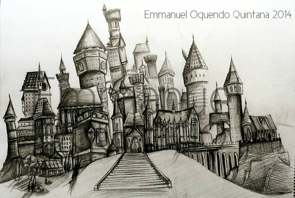 Hogwarts Castle- Sketch