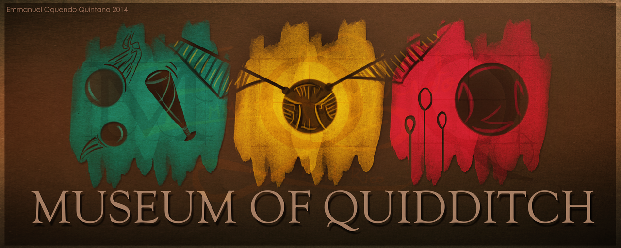 LOGO: MUSEUM OF QUIDDITCH IN LONDON