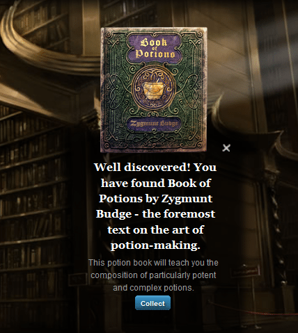 Pottermore – Book of Potions Zygmunt Budge