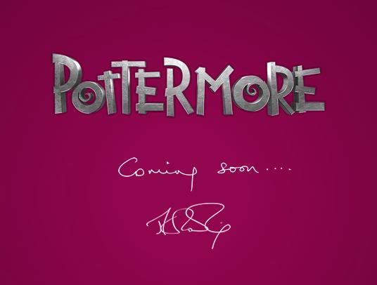 Pottermore Coming Soon