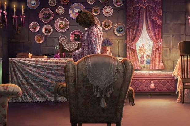 Pottermore Dolores Umbridge Office