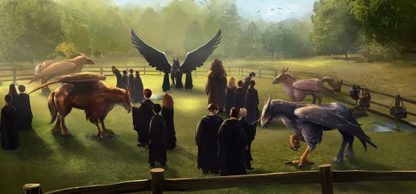 Pottermore – Magical Creatures – Hippogriffs