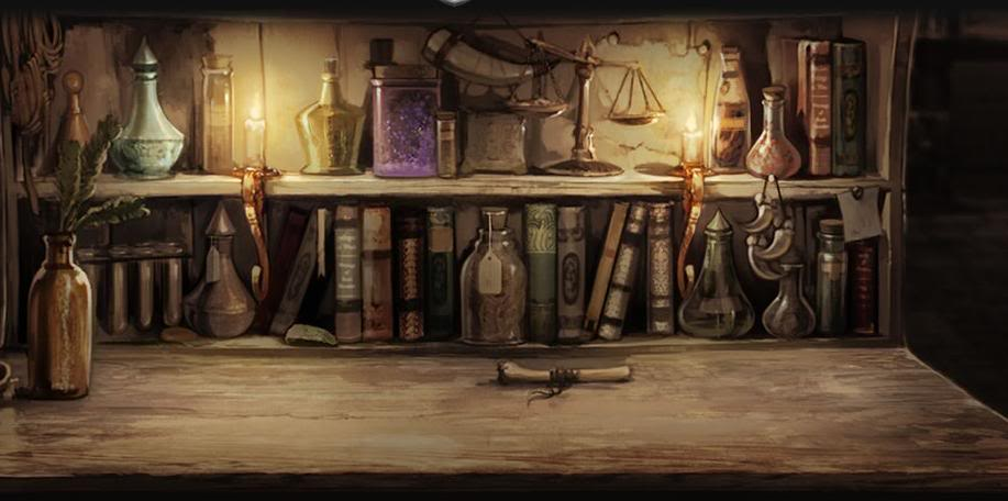 Pottermore Potions Table