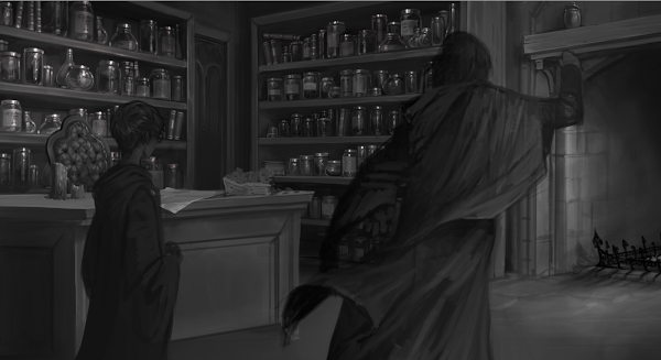 Pottermore – Snape – Potions Office