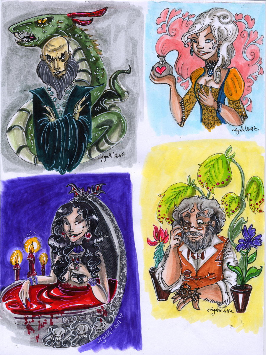 chocolate_frog_cards_by_agathum-d3b763s