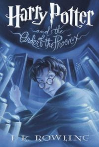 Harry Potter And The Order Of Phoenix Fifth Book In Series First Four Novels Came Out One Per Year Long Wait For