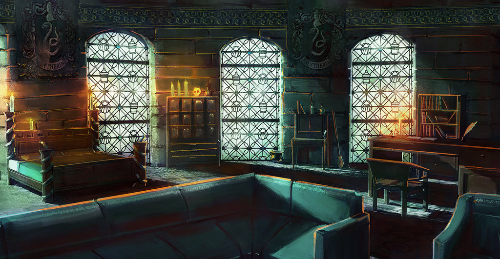 Slytherin Dorm Room