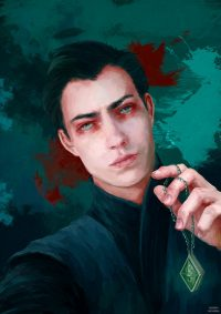 Tom Riddle commits his first murders: his father and grandparents in their Little Hangleton mansion