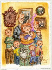 Ginny Weasley is born