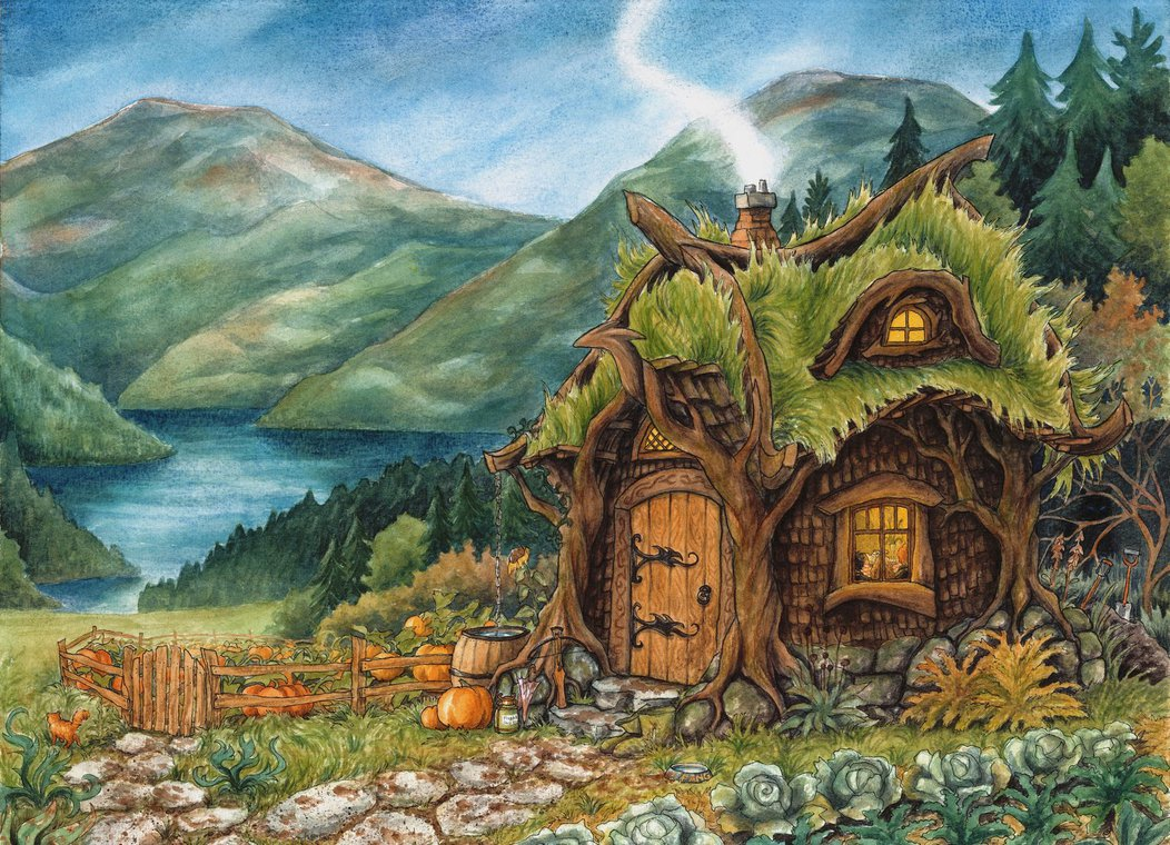 Hagrid 39 s hut the harry potter lexicon What house was hagrid in