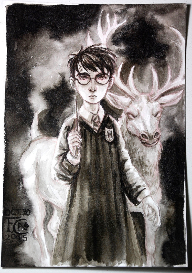 Harry and His Patronus Charm