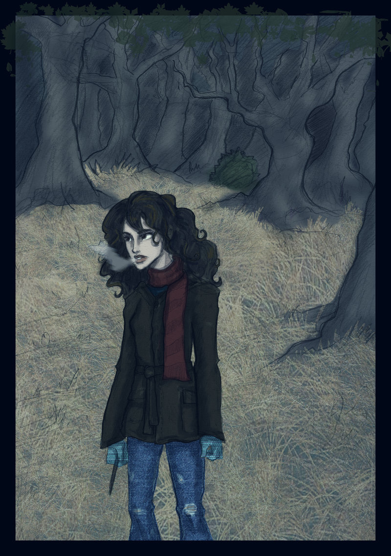 hermione in the woods- dh