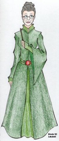 Minerva McGonagall refuses a promotion at the Ministry