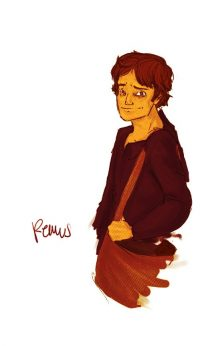 Remus Lupin, at the start of his fifth year, becomes a Hogwarts Prefect