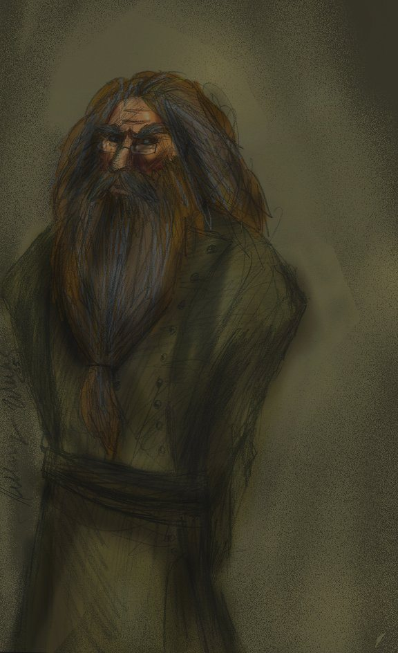 Rufus Scrimgeour in color