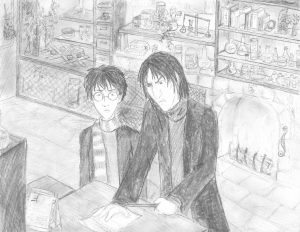 Snape discovers Harry's possession of the Marauder's Map.