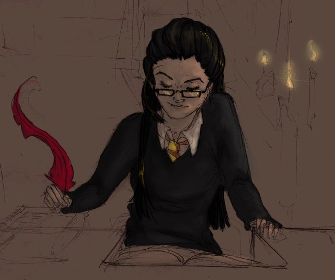 Teenage McGonagall