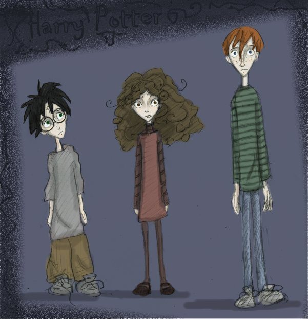 Tim Burton's HP