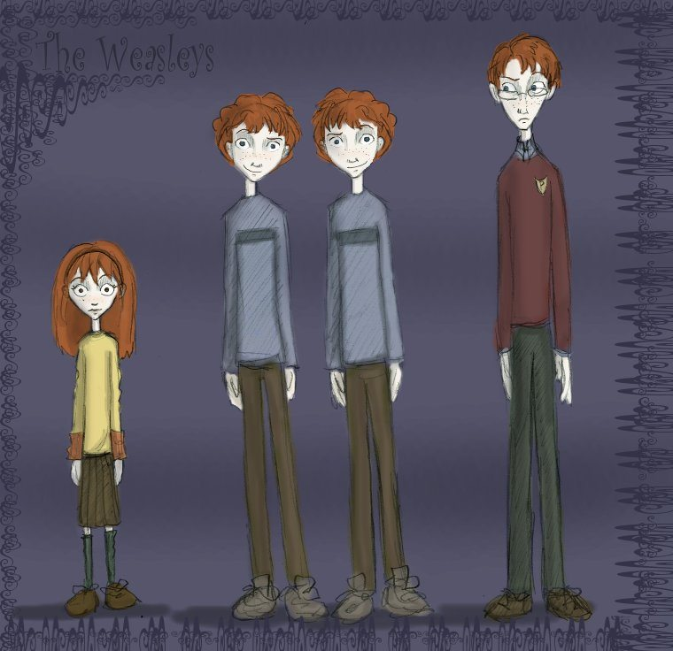 Tim Burton's The Weasleys