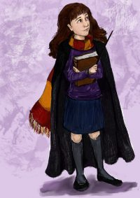 Hermione Granger is sorted into Gryffindor