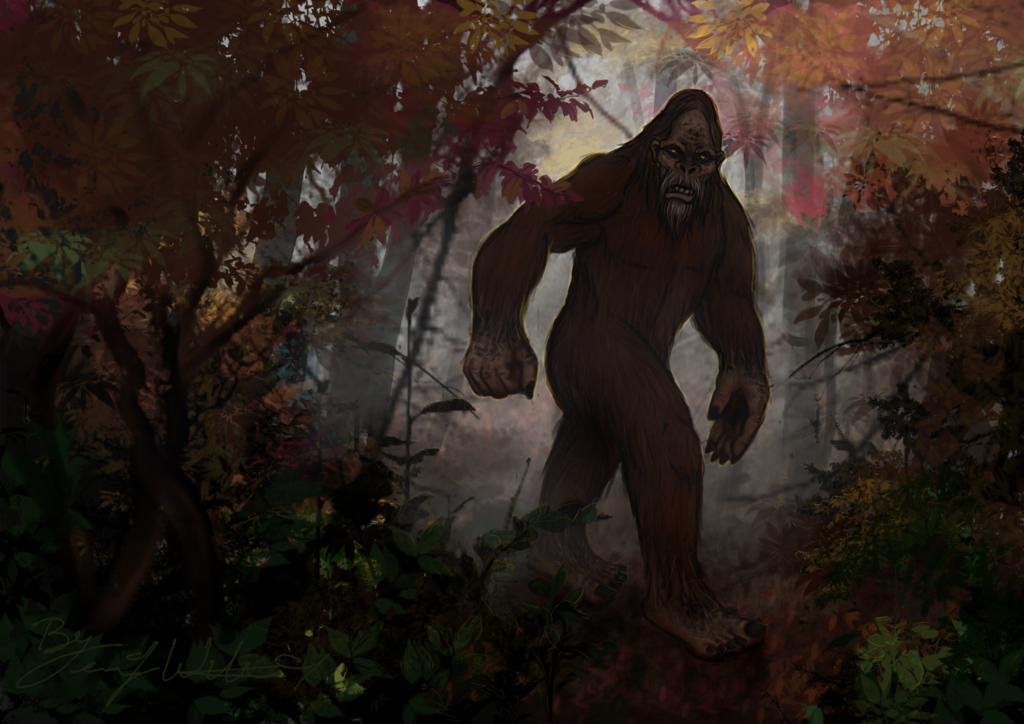 October: Bigfoot