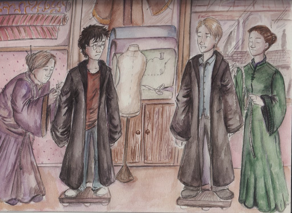Madam Malkin S Robes For All Occasions Harry Potter Lexicon