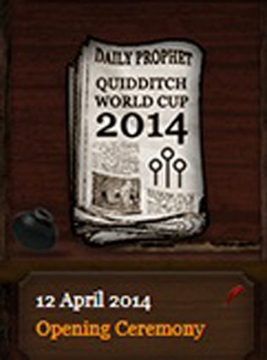 Quidditch World Cup 2014 Daily Prophet (12 April 2014)