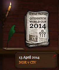Quidditch World Cup 2014 Round of 16 Match 1